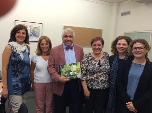 Reunión con la Facultad del Programa de Maestría en Promoción de la Salud. Universidad de Girona. 4 de octubre de 2016.