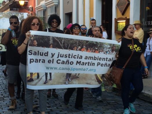 Reclamos de las comunidades. San Juan de Puerto Rico. 20 de enero de 2017.