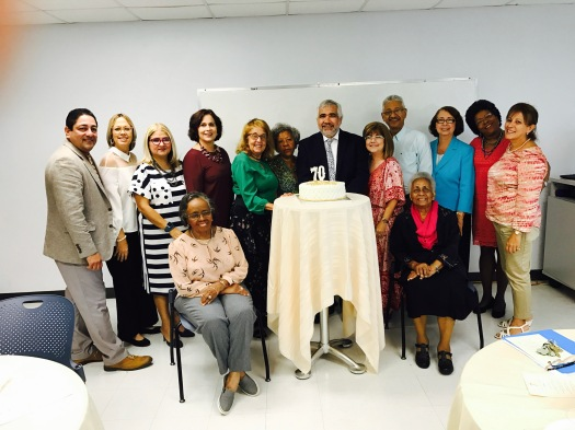 Conmemoración 70 Aniversario Programa de Maestría en Educación para la Salud de la Universidad de Puerto Rico. 25 de agosto de 2017.